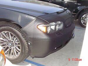 Colgan Front End Mask Bra 2pc. Fits BMW 740i 1995-1998 W/Lic.Plate & W/Washers