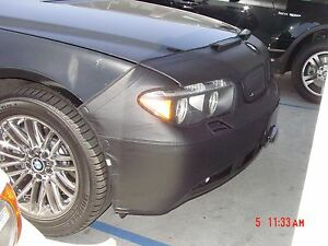 Colgan Front End Mask Bra 2pc. Fits BMW 745i 745li 760i 02-05 W/TAG,W/Sensor