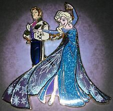 Disney Fairytale Designer Pin LE - Elsa and Hans from Frozen