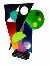 Unique Sculpture, colorful geometrics & Abstract Table Top Sculpture by Art69