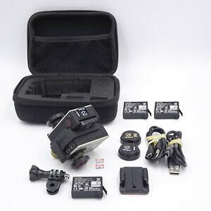 2X GoPro Hero 4 Action Cams - iZugar 360 Mod Z2X-C - Fisheye Lenses - #DR6700