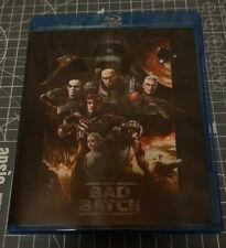 The Bad Batch Season 1 BLU RAY 2 disc English Francais Star Wars Saison 1