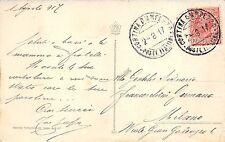 C4598) WW1 ANNULLO CORTINA D'AMPEZZO POSTE ITALIANE SU 10c LEONI.