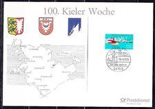 Germany 1994 Sonderblatt Mi 1678 Sc 1786 Steamer Ship Lighthouse Heraldy Arms