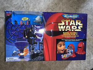 Star Wars Micro Machines ROYAL GUARD Transforming Action Set 1997 Galoob - NEW