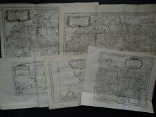 1758 BELLIN  Atlas 5 x maps  SIBERIA - Russia - Novaya Zemyla - Waigats Strait