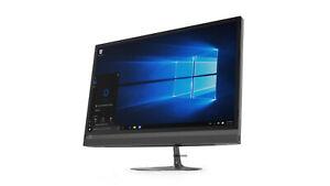 """LENOVO AIO 520-24ARR A6-9500E 8GB 2TB DVDRW WIFI WEBCAM Win 10 24"""" FHD"""