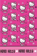 Hello Kitty Star Party - Plastic Tablecover 183cm - Birthday - FREE POST IN UK