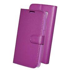 Samsung Galaxy S2 I9100 Book Tasche Cover Case Wallet Leder Telefon schwarz pink