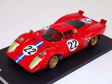 1/18 Ferrari 312P 1970 12 hours of Sebring car #22 Parkes Parsons Lim100 p f5