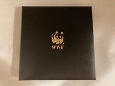 WORLD WILDLIFE FUND Stamp Collection Album - 60 1st Day of Issue Stamps/Envelope