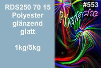 PULVERLACK Beschichtungspulver Pulverbeschichtung RDS 250 70 15 blau Ral Design