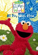 Sesame Street Elmo's World: All Day With Elmo DVD Young Children Early Learning