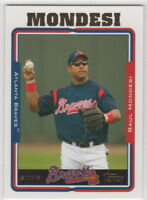 2005 Topps Baseball Atlanta Braves Team Set