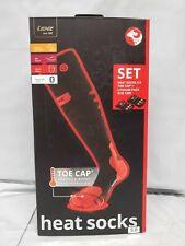 Lenz 5.0 Heated Sock w/ Heated Toe Cap-Large--US 8.5-10.5--FREE SHIPPING