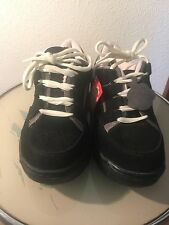 Kickers sneakers 1980's new old stock men's sz7,ladies sz 10