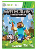 Minecraft Xbox 360 Brand New and Sealed