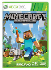 MINECRAFT XBOX 360 EDITION - MINT-  FAST AND FREE 1st Class Delivery