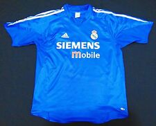 Real Madrid 04-05 Zidane Third Shirt France Maillot Juventus Maglia Shirt Trikot