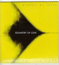 JEAN MICHEL JARRE GEOMETRY OF LOVE - VIP ROOM CD PROMO