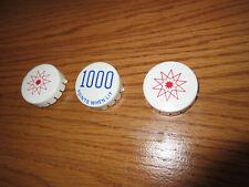 Three Bumper Caps for Gottlieb CENTIGRADE 37 / GOLDEN ARROW Pinball