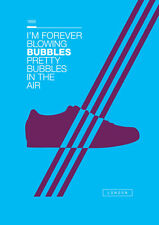 Adidas London A3 260GSM Poster Artwork Casuals Spezial West Ham Hammers