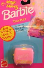 Barbie Magic Moves TOASTER - Wind It Up & It Works! (1993 Arcotoys, Mattel)