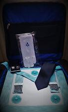 Master Mason regalia (LAMBSKIN) apron and case package