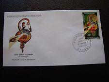 REPUBLIQUE CENTRAFRICAINE - enveloppe 1er jour 20/11/1971 (B4)