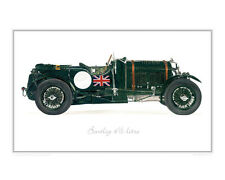 Blower Bentley Supercharged - Limited Edition Classic Car Print by Steve Dunn