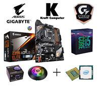 PC Bundle Intel i5 9600K (6x4,6GHz) + GIGABYTE Z390 AORUS ELITE + LED Küher