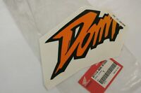 Adesivo fiancata sx Left fairing decal stripe Honda Dominator 500/650 NX 1997