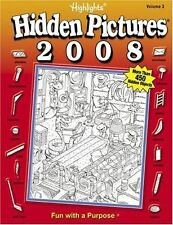Highlights Hidden Pictures Annual 2008 Volume 3 by Highlights for Children