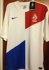 NEW Nike Holland Netherlands Replica Jersey 2012 Away Men's LARGE - BNWT