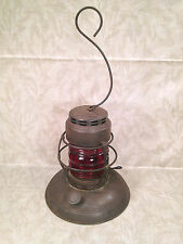 Embury Lantern with Red Lamp No 40 Traffic Gard Warsaw NY