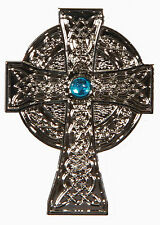 2 Silver Metal Celtic Cross Golf Ball Markers