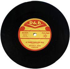 "BEVERLY ANN GIBSON  ""A THREE DOLLAR BILL""  IN DEMAND R&B CLASSIC    LISTEN!"