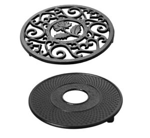 Cast Iron Teapot Trivets Holder for Holding All Types of Pots and Pans Teaware