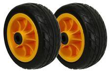 """RockNRoller 8""""x3"""" Ground Glider Wheel With Offset Hub (upgrade for R6 8 14 16)"""