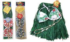 Hawaiian Hula Grass Skirt Set Hula Dancer Luau Real Raffia Child Size Hawaii NIB