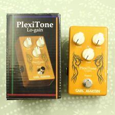 Carl Martin PlexiTone Single Channel / Lo-Gain guitar effect pedal (161200415)
