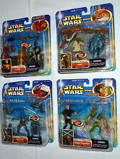 Star Wars AOTC 4 SETS:- C-3PO, YODA, JANGO FETT & ANAKIN SKYWALKER
