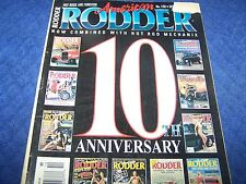 American Rodder Magazine,Rat Rods, Hot Rod & Custom Cars, Oct.1997