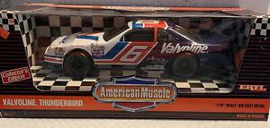 ERTL Diecast 1:18 American Muscle Mark Martin #6 Valvoline Ford Thunderbird