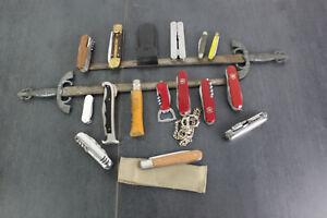 Messerkonvolut, Taschenmesser, 18 Stück, Multitool, Victorinox