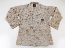 USMC Marine Military Desert Marpat Camo Blouse Top Shirt MCCUU M Medium Regular
