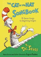 Cat in the Hat Songbook by Dr. Seuss c2017, NEW Hardcover