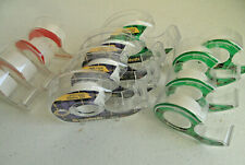 12 Empty Tape Dispensers & Rolls Shipping Packing Holders Various Types