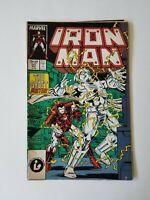 INVINCIBLE IRON MAN #221 1987 MARVEL COMICS