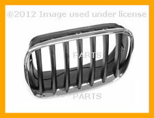 BMW X5 X6 2007 2008 2009 2010 2011 2012 Grille - Chrome Frame with Black Grille